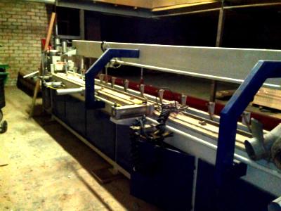Пресс для сращивания по длине (ручной) PSK 6000 Б/У