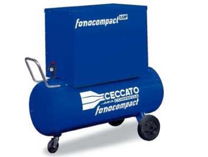 Бесшумные компрессоры на раме или ресивере Fonocompact Pro