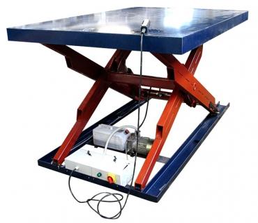 Стол подъемный гидравлический ГС-Лоза 1300x800мм 1000кг.