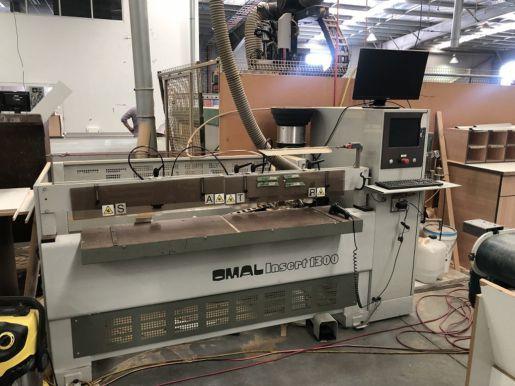 Линейная сверлильная машина OMAL INSERT 1300 MEB025