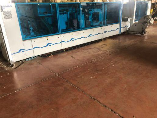 Двухсторонний обрезной кромкооблицовочный станок Homag Kfl 526/8/A3/30