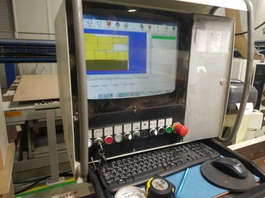 Форматно-раскрречный центр с ЧПУ SCM SIGMA 85K IMPACT