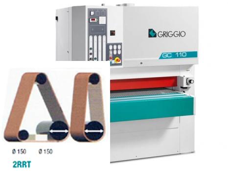 Калибровально-шлифовальный станок GC 110/2-150 RRT