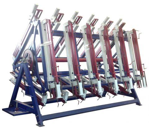 Пресс роторный гидравлический «Лоза» с 3-мя рабочими полями