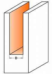 Фрезы цилиндрические двузубые длинная серия  СМТ