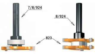 Фрезы пазовые со сменными дисками CMT